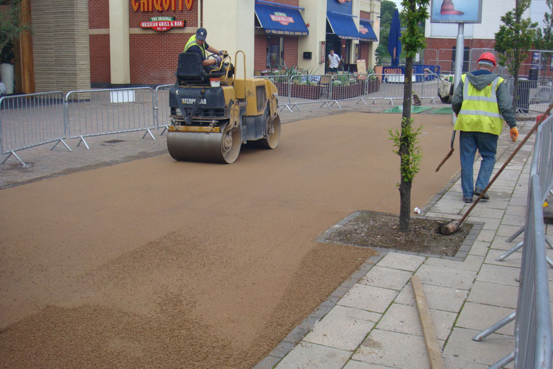 Pavement and Path Building - General Civil Engineering